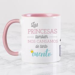 Diseño Las princesas también nos cansamos de tanto cuento