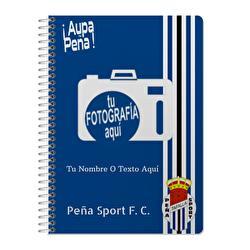 Cuaderno A5 Peña Sport F. C.