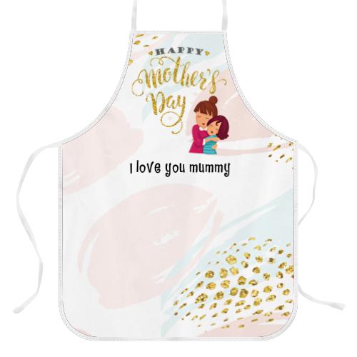 Wanapix Keukenschort voor moederdag met foto of naam bedrukken