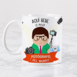 Diseño Profesion Fotógrafo Chico