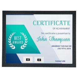 Diseño Certificate