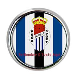 Pin Metálico Redondo Peña...
