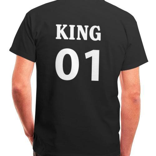 salida para la venta buscar genuino diseño encantador Camisetas King & Queen personalizadas | Regalos Personales
