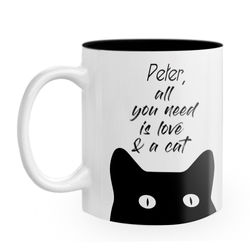 Diseño All you need is love & cats
