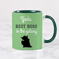 Diseño Yoda best boss in the galaxy