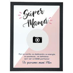 Diseño Súper mamá (foto) (V)