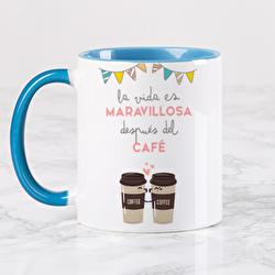 Diseño La vida es maravillosa después del café