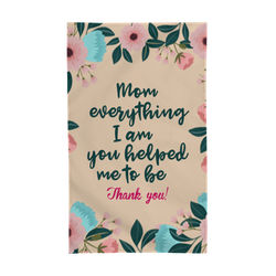 Diseño Mom, everything I am, you helped me to be.