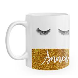 Diseño Glitter eyelashes