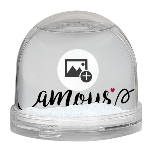 boule à neige personnalisé prénom