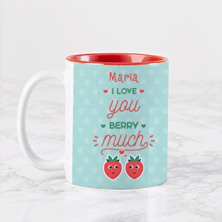 """Diseño I love you """"BERRY"""" much"""