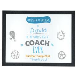 Diseño Coach Certificate