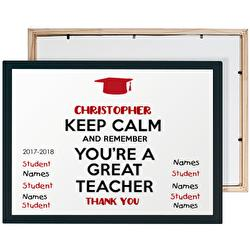 Diseño Keep calm Teacher