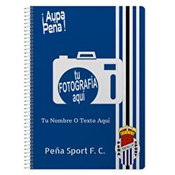 Cuaderno A4 Peña Sport F. C.