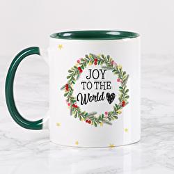 Diseño Christmas crown - Joy to the world