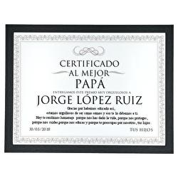 Diseño Certificado elegante