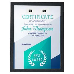 Diseño Certificate (V)